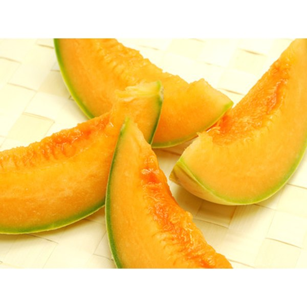 Melons contain vitamin C and other nutrients.
