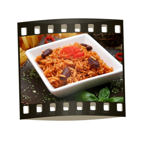 Beans and rice are a great source of complete protein, minerals and dietary fiber.