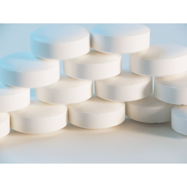 Uncoated aspirin tablets can make an oil-zapping acne mask.