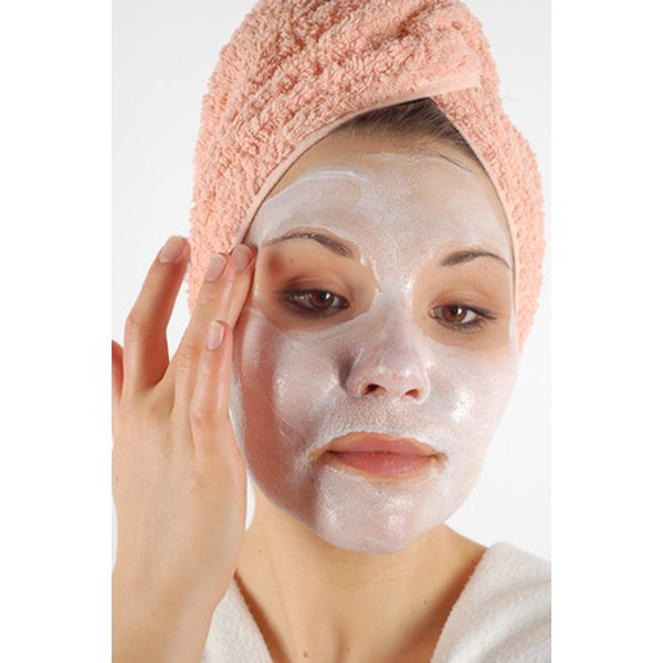 Masks can help tone down your skin's redness.