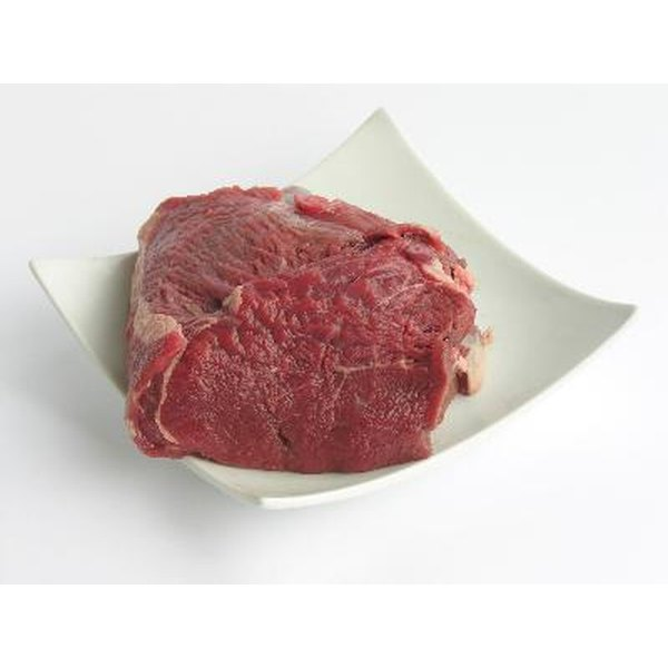 Red meat is a high source of iron.