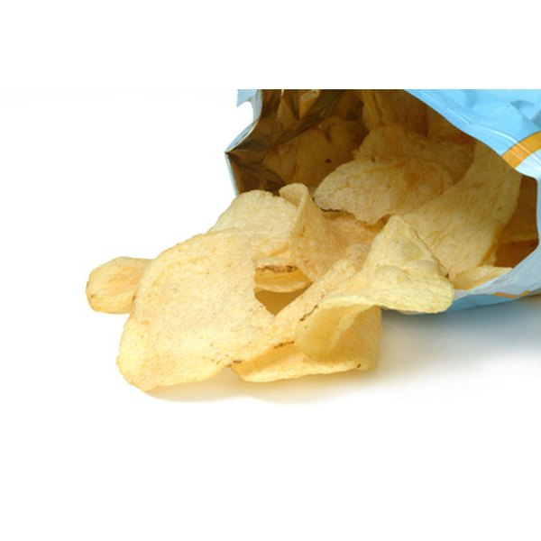 The vitamin C baked potato chips helps your body produce collagen.