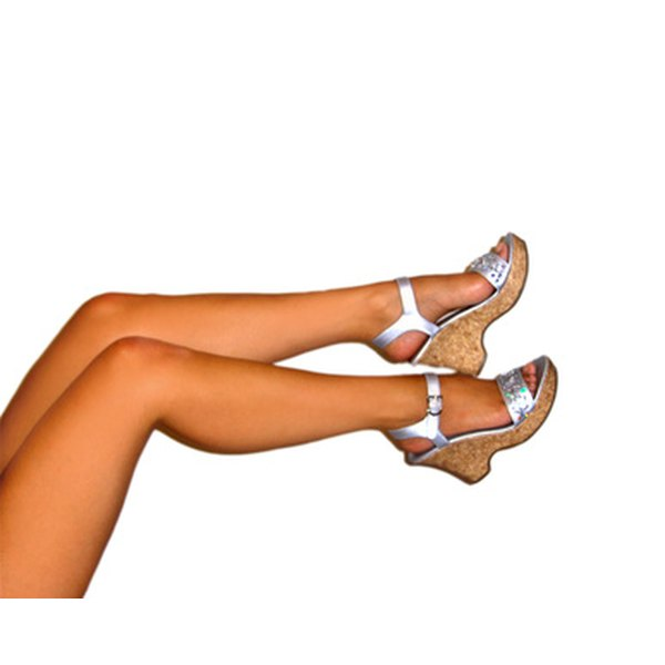 Limit home electrolysis to body parts that are accessible, such as your legs.