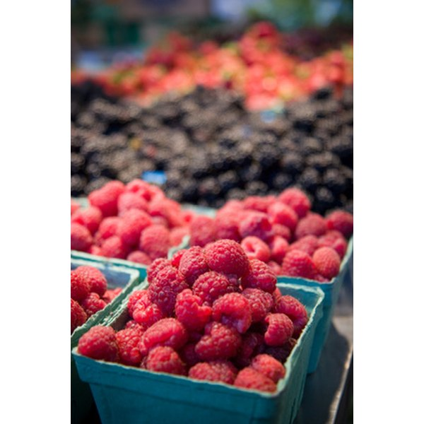 Berries are high in antioxidants which can help the skin.