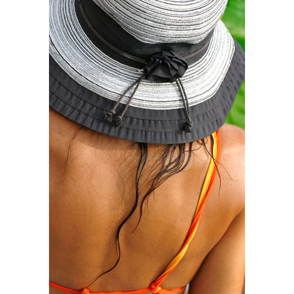 Wear sunscreen and a hat to protect against sunburn.