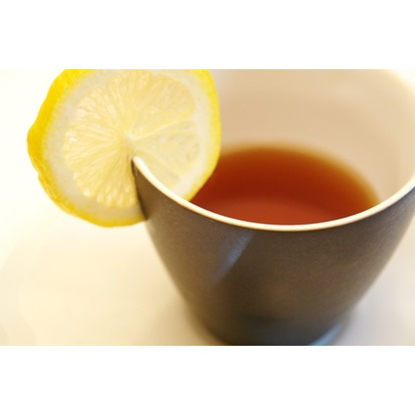 Tea may help soothe an itchy throat.