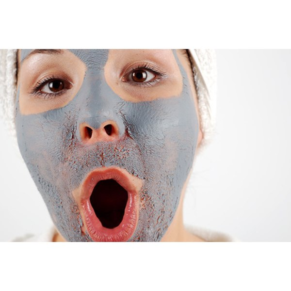 Use clay masks to condition your skin.