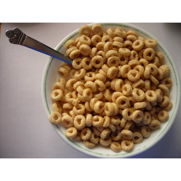 Cereal is commonly fortified with vitamins.
