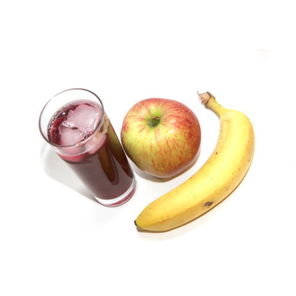 100% fruit juice contains vitamins and minerals but does not have any fiber.