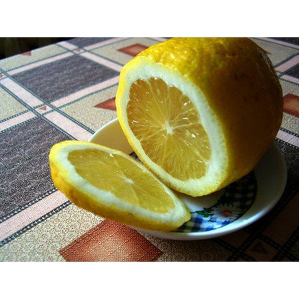 Fade age spots with lemon juice.