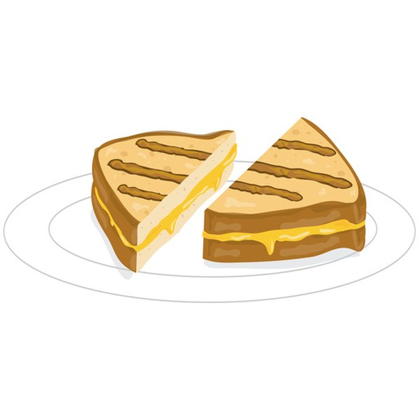 Cheddar is often used in grilled cheese sandwiches.