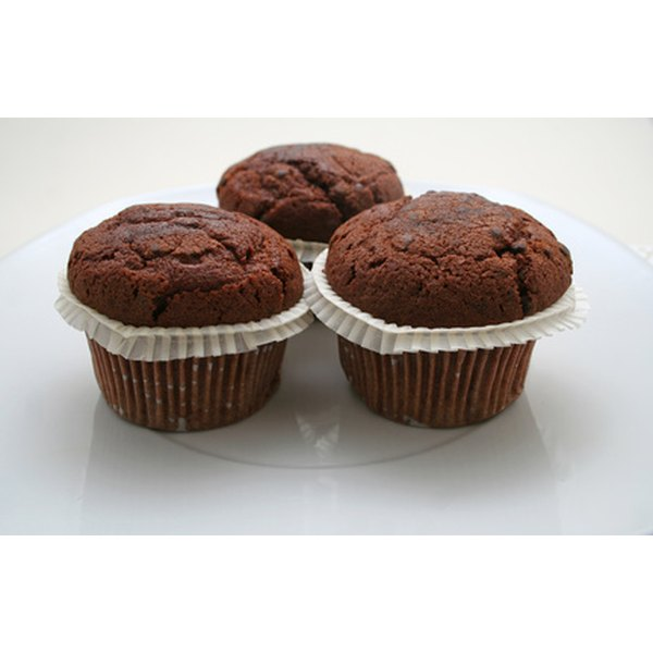 Bran muffins are a delicious source of dietary fiber.