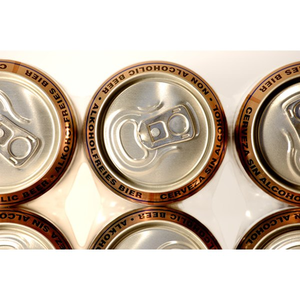 Aluminum cans are one of several types of recyclable metal goods.