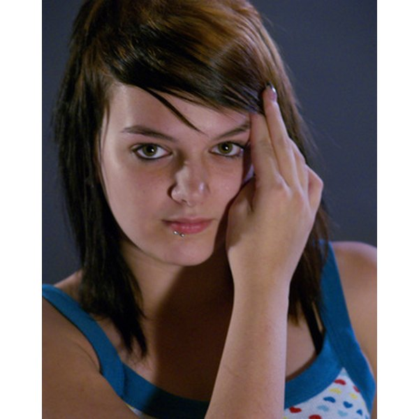 Oily hair is a problem for many teens.
