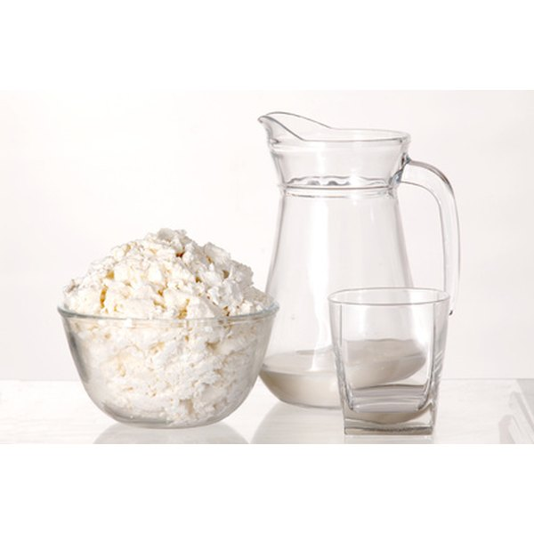 Milk, yogurt and cheese are excellent sources of calcium.