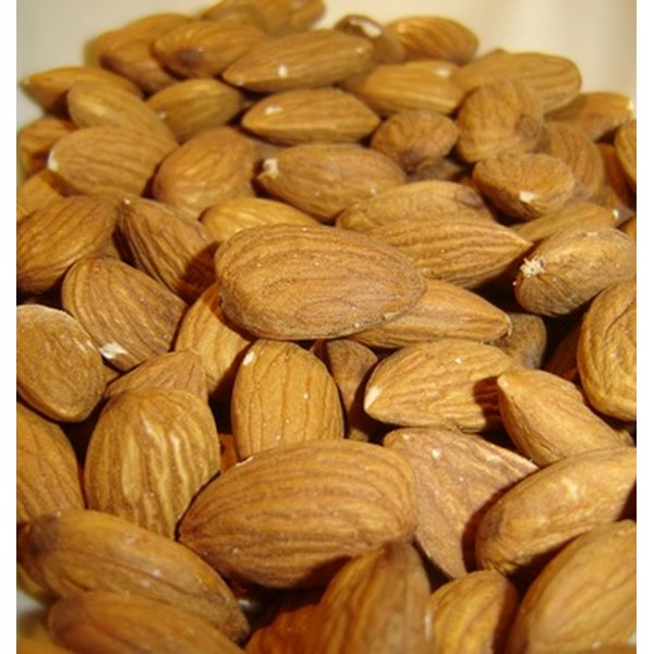 A handful of almonds can provide a healthy, protein-rich snack.