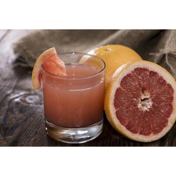 The vitamin C in grapefruit juice may help speed wound healing.