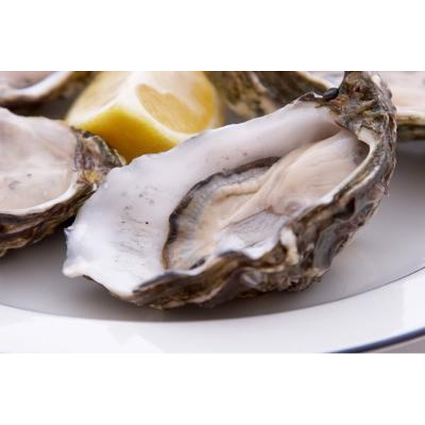 Oysters are a good source of vitamin B-12.