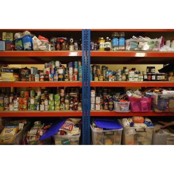 Keep extra food supplies and water in your cabinets during hurricane season.