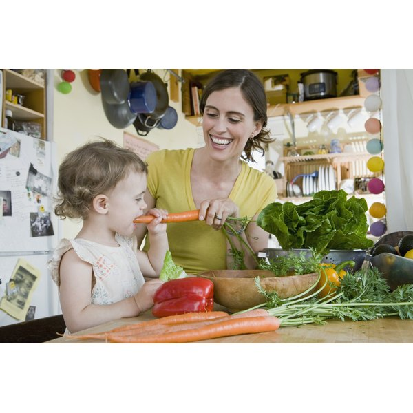 Emphasizing nutritious, whole foods can help minimize post-pregnancy pounds.