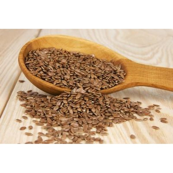 Flaxseeds may be unsafe during pregnancy.