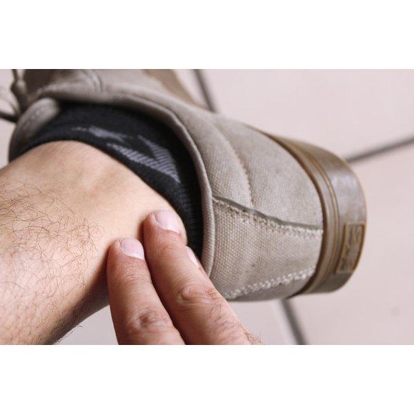 Dress Shoe Heel Rubbing