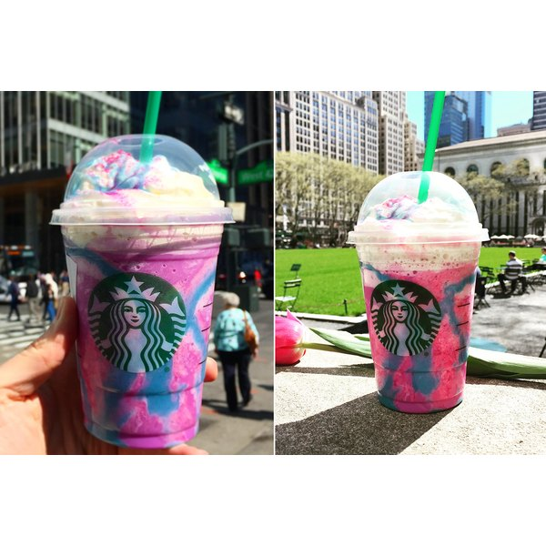 Starbucks' new Unicorn Frappuccino might be colorful, but it sure isn't health.