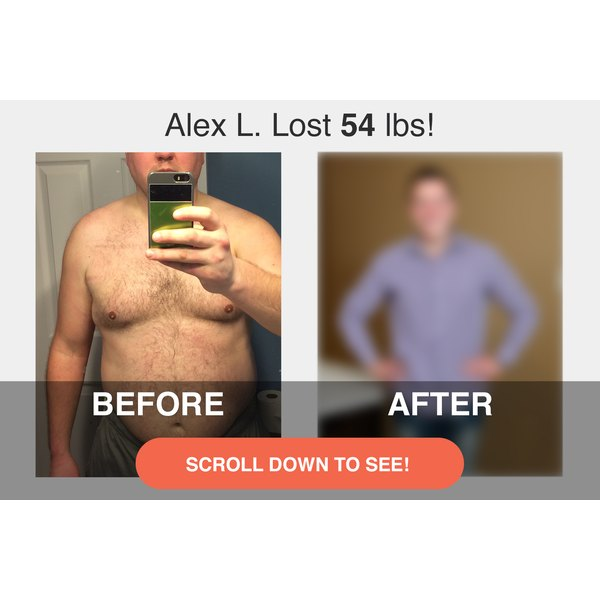 Scroll down to see what Alex looks like now!
