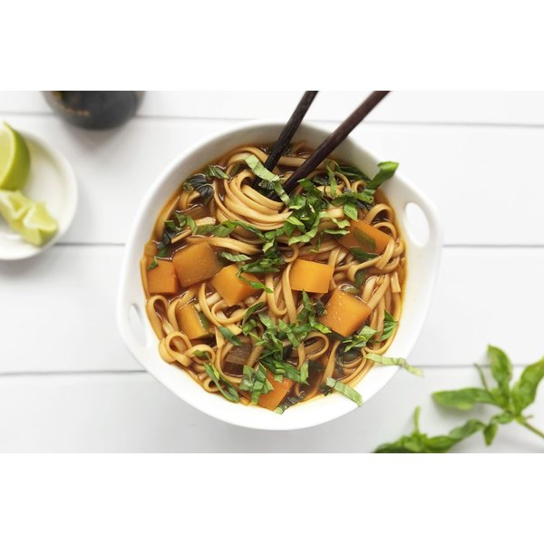 This vegan pho bursts with butternut squash and other plant-based goodness.