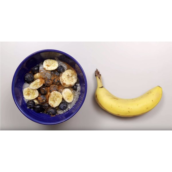 You'll sleep easy knowing this chia breakfast bowl is waiting for you in the morning.