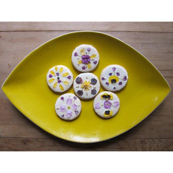 Floral Patterned Sugar Cookies