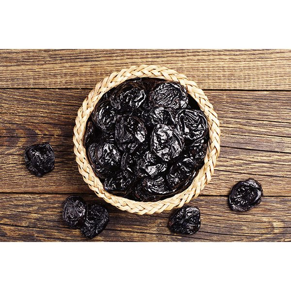 Dried plums are high in vitamin K and polyphenols.