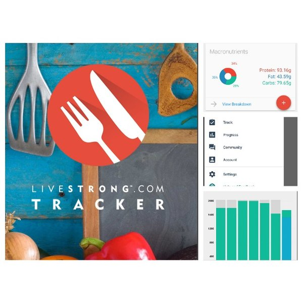 Easily track calories and macros to lose weight and achieve your healthy goals with the LIVESTRONG Calorie Tracker!