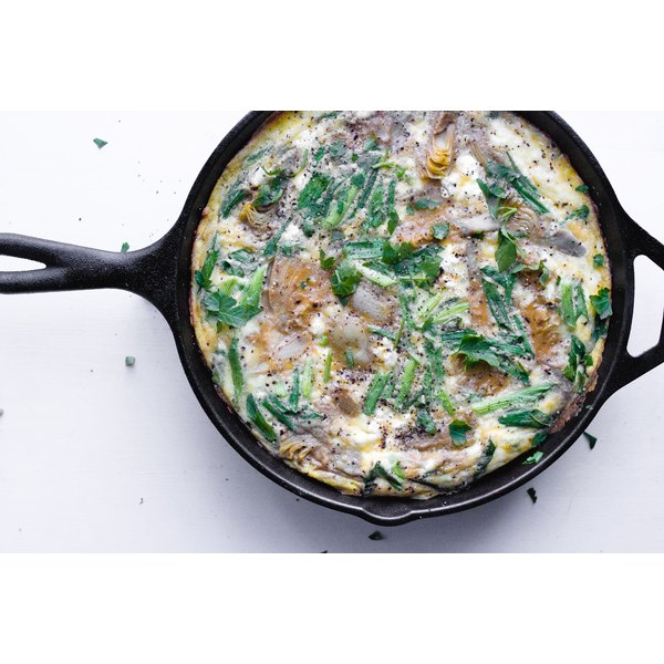 Get your morning started right with a frittata.