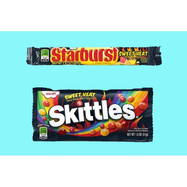 """Watch out for Skittles and Starburst new """"Sweet Heat."""""""