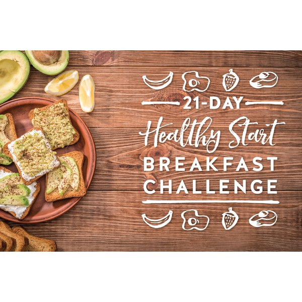 The LIVESTRONG.COM 21-Day Healthy Start Breakfast Challenge kicks off Monday, September 12.