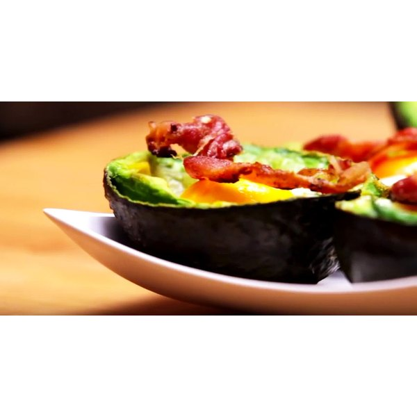 These avocado egg cups require just three ingredients.