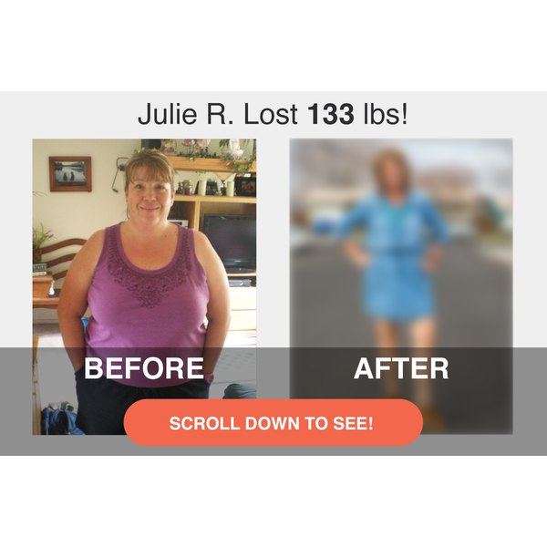Scroll down to see Julie's impressive transformation.