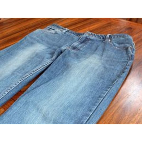 Measure a well-fitting pair of jeans.