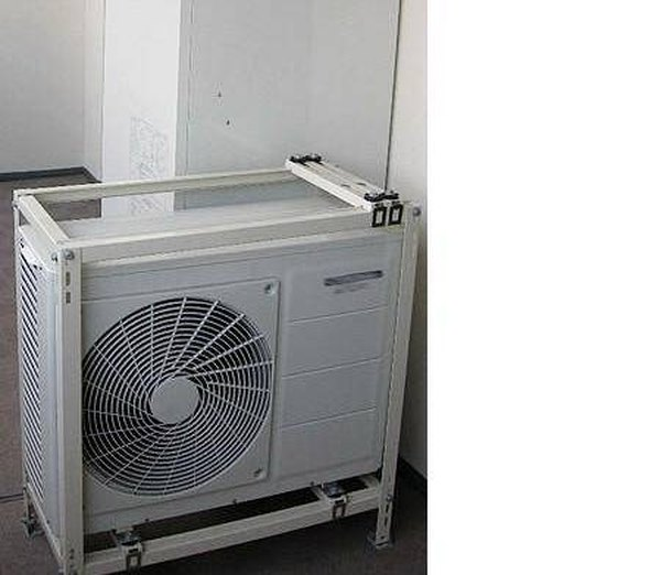 Efficient heat pumps like this Japanese model have replaced furnaces in homes in temperate climates.