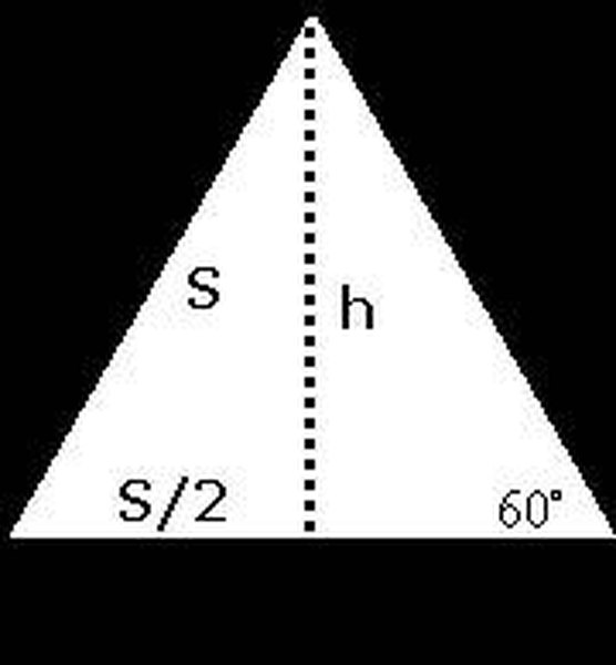 How to Calculate the Area of an Equilateral Triangle | Sciencing