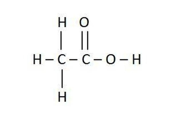 Acetic acid.