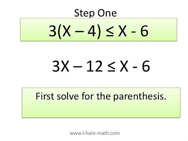 Solve the Parenthesis