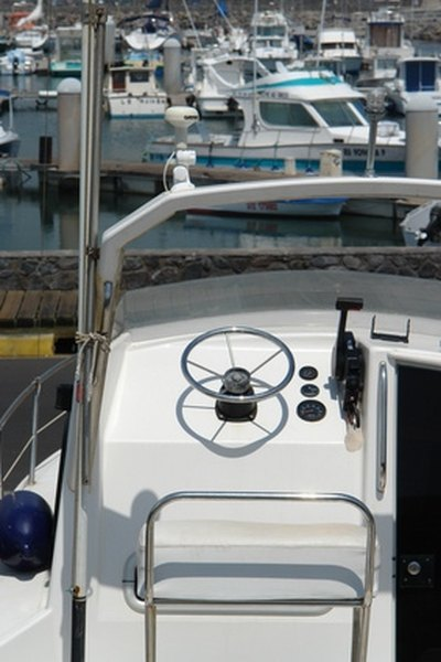 How to Adjust the Steering System in My Boat