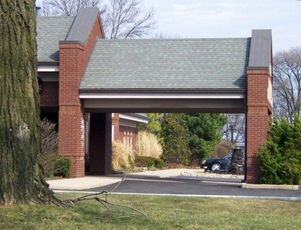 How Do I Design a Driveway Canopy?   HomeSteady