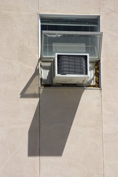 How To Fill The Gap Over An Air Conditioner In A Casement