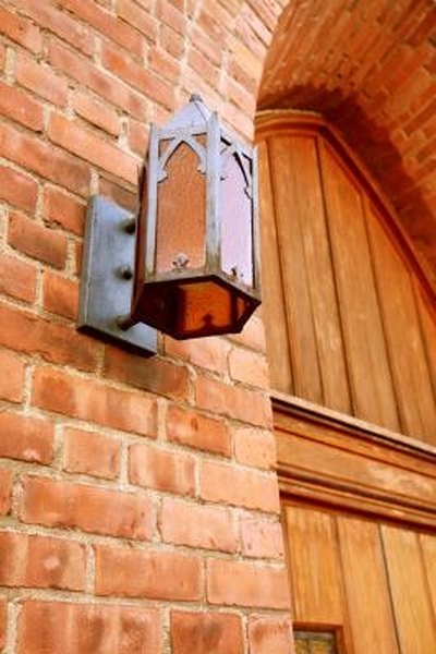 How To Install Outdoor Lights On Brick Homesteady
