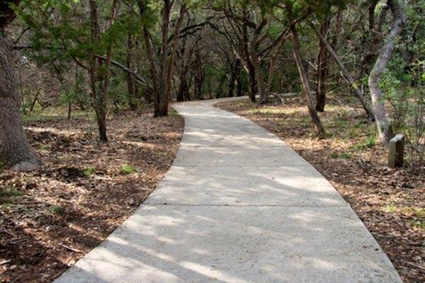 Calcium hydroxide makes cement sidewalks.