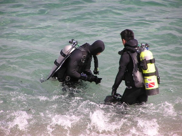 PVC fabric is waterproof, making it suitable for scuba-diving gear.