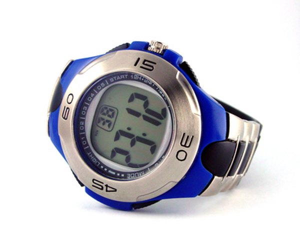 A quartz movement watch may have a digital or analog display